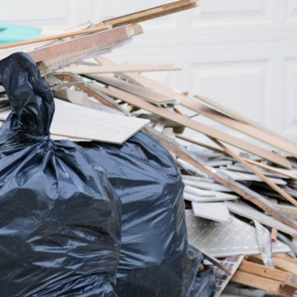 remonto atliekų išvežimas
